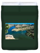 Brimmer Point Of Guernsey State Park Duvet Cover