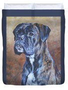 Brindle Boxer Duvet Cover