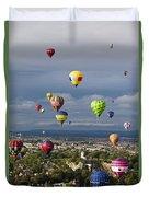 Bristol Balloon Fiesta Bristol Duvet Cover