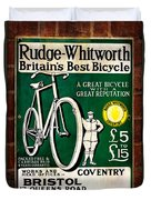 Britains Best Bicycle Duvet Cover