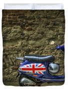 British At Heart Duvet Cover