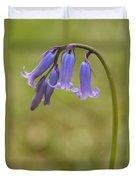 British Bluebell Hyacinthoides Non Scripta. Duvet Cover
