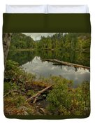 British Columbia Starvation Lake Duvet Cover