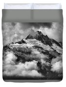 British Columbia Tantalus Mountain Range Duvet Cover