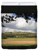 British Countryside Sussex Uk Duvet Cover
