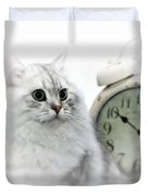 British Longhair Cat Time Goes By II Duvet Cover