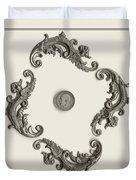British Shilling Wall Art Duvet Cover