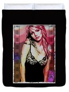 Britney - Pretty In Pink Duvet Cover