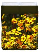 Brittle Bush In Bloom  Duvet Cover