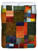 Brocade Color Collage 3.0 Duvet Cover