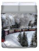 Brockenbahn Duvet Cover