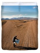 Brody Leven, Patagonia, Chile Duvet Cover
