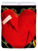 Broken Heart Mended Duvet Cover