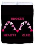 Broken Hearts Club Duvet Cover
