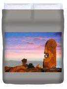 Broken Hill 1 Duvet Cover