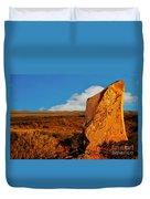 Broken Hill 4 Duvet Cover