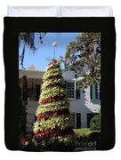 Bromelia Christmas Tree Duvet Cover