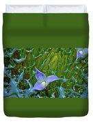 Bromeliad Pond Duvet Cover