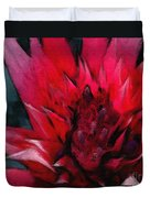 Bromeliad Splendor Duvet Cover