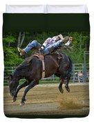 Bronco Cowboy Duvet Cover