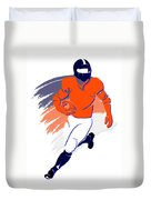 Broncos Shadow Player2 Duvet Cover