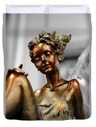 Bronze Beauty Duvet Cover