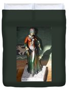 Bronze Dancer Duvet Cover