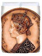 Bronze Empress Victoria Duvet Cover