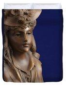Bronze Lady Duvet Cover