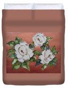 Bronze Magnolia Duvet Cover