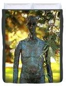 Bronze Man Duvet Cover