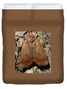 Bronze Moth Duvet Cover