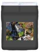 A Brook In The Wicklow Mountains, Ireland Duvet Cover