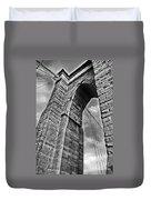 Brooklyn Bridge Arch - Vertical Duvet Cover