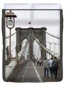 Brooklyn Bridge II Duvet Cover