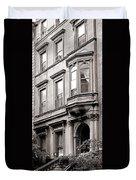 Brooklyn Heights -  N Y C - Classic Building And Bike Duvet Cover