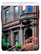 Brooklyn Heights - Nyc - Classic Building And Bike Duvet Cover