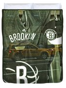 Brooklyn Nets Duvet Cover
