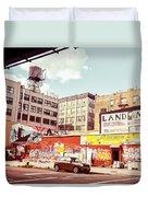 Brooklyn - New York City - Williamsburg Duvet Cover