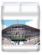 Brooklyn - New York - Flatbush - Ebbets Field - 1928 Duvet Cover