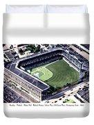Brooklyn - New York - Flatbush - Ebbets Field - 1940 Duvet Cover