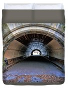 Brooklyn Prospect Park Tunnel Duvet Cover