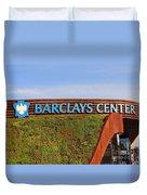 Brooklyn's Barclays Duvet Cover