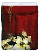 Broom Closet Christmas Duvet Cover