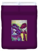 Brother And Sister  Duvet Cover