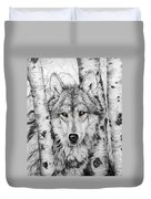 Brother Wolf Duvet Cover