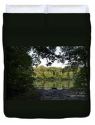 Brother's Fishin' Hole 20140719 Duvet Cover