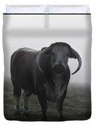 Brown Bull Duvet Cover