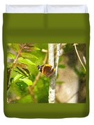 Brown Butterfly 2 Duvet Cover