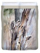 Brown Creeper Duvet Cover